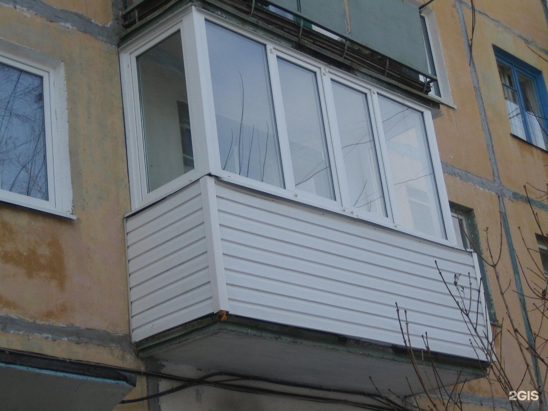 """Остекление балкона в """"хрущевке"""" в тюмени цены, стоимость усл."""