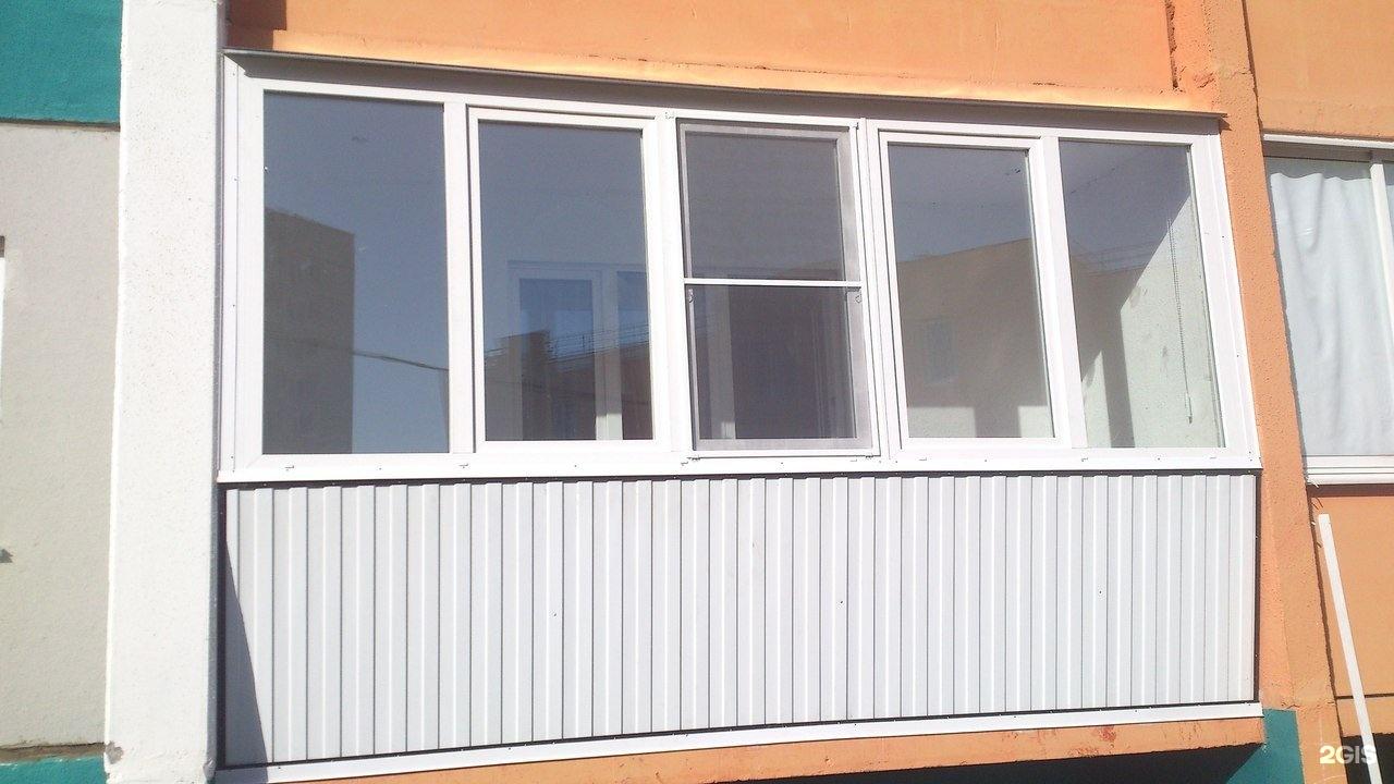 Ыооо обшитых балконов. - галерея работ остекление - каталог .