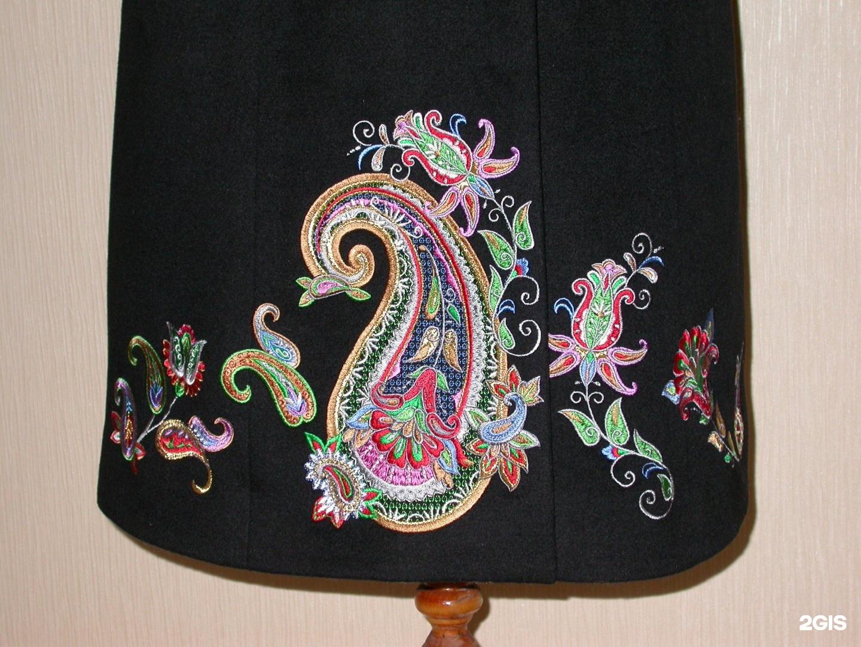 Идеи для вышивки на пальто 53