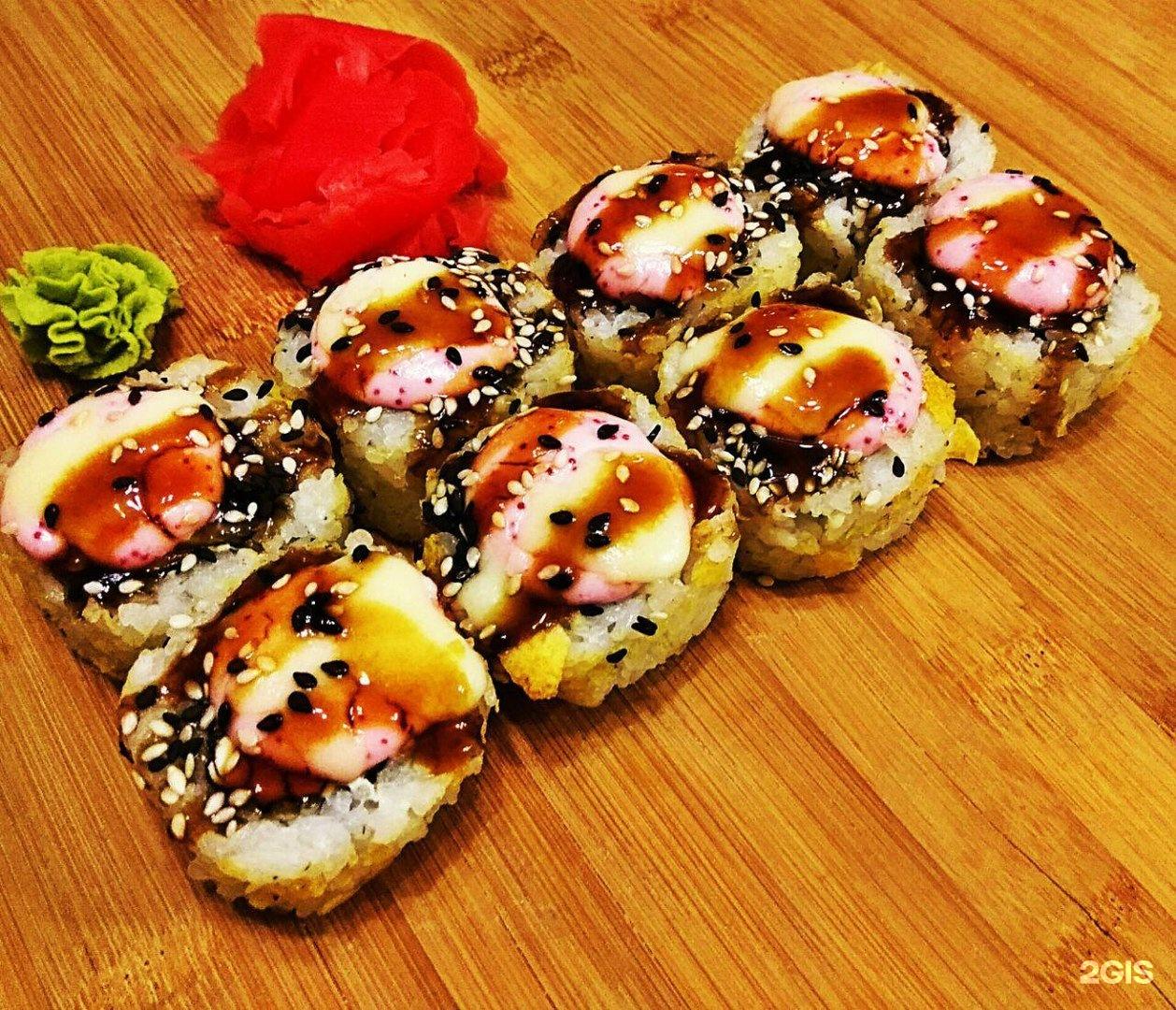Рецепты запеченные суши в домашних условиях рецепт с фото
