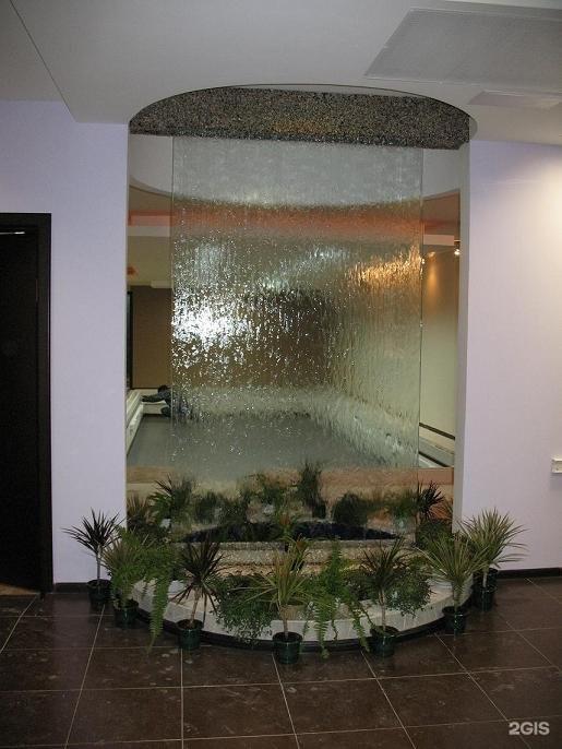 Как я сделал водопад по стеклу