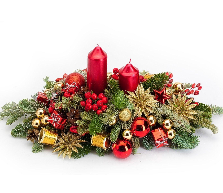 Цветы, новогодние букеты на заказ спб