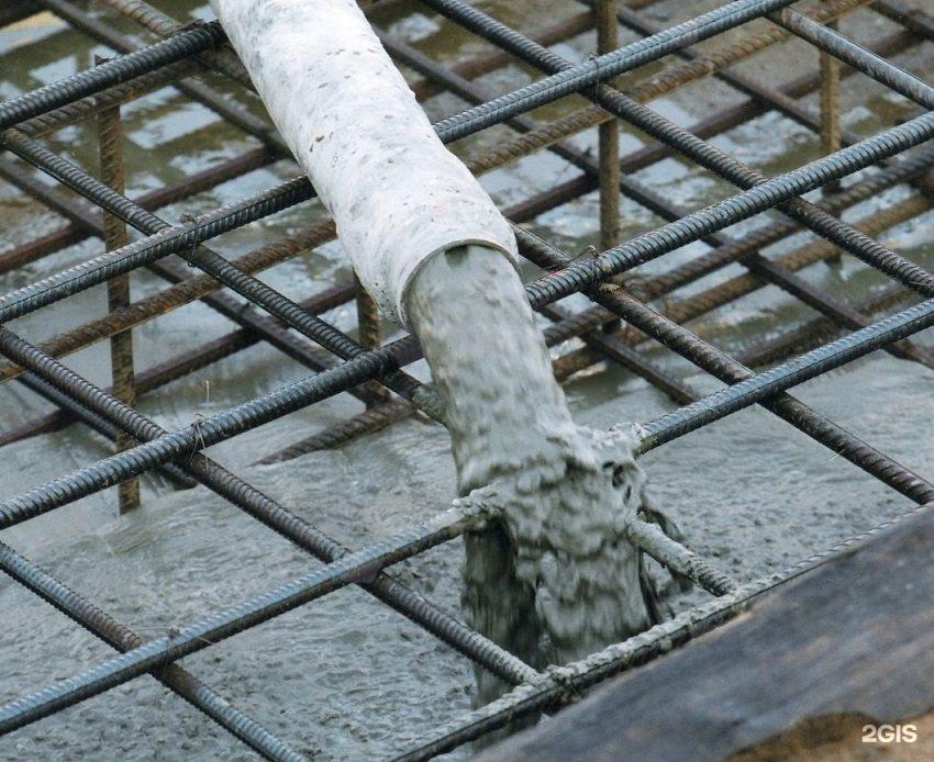 заливка бетона с армированием и опалубкой цена