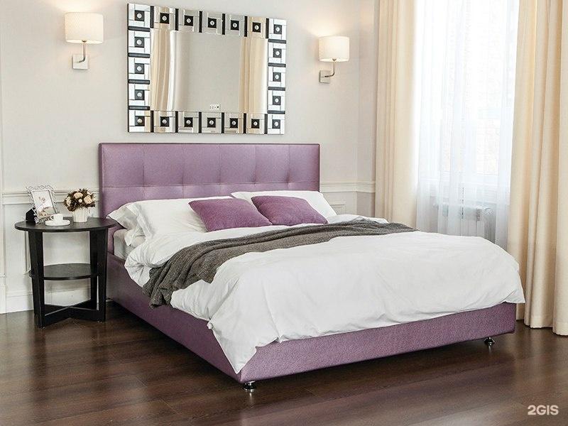 Аскона кровать романо с подъемным механизмом