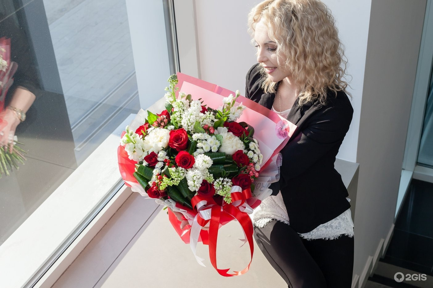 Элит букет екатеринбург победы, цветами днем